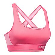 Womens Under Armour Mid Crossback Sports Bras
