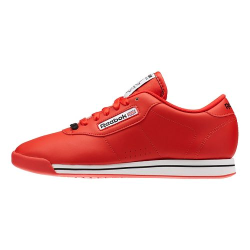 Womens Reebok Princess Casual Shoe - Red/White 12
