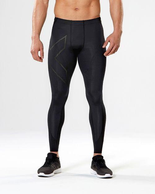 Mens 2XU MCS All Sport Compression Tights & Leggings Pants - Black/Nero S-R