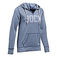 Womens Under Armour Favorite Fleece - Jock Hoodie & Sweatshirts Technical Tops