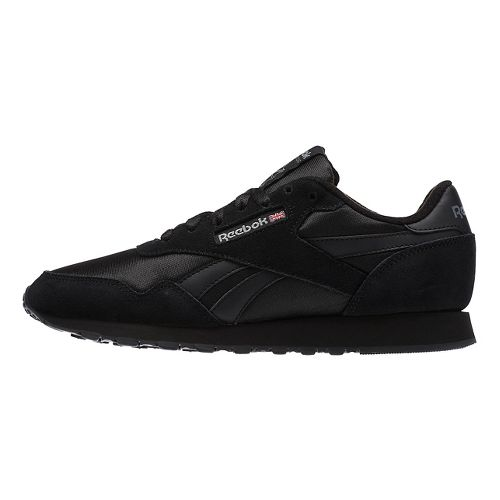 Womens Reebok Royal Nylon Casual Shoe - Black 10