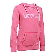 Womens Under Armour Favorite Fleece - Knockout Hoodie & Sweatshirts Technical Tops