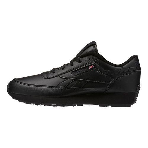 Womens Reebok Classic Renaissance Casual Shoe - Black/Grey 5.5