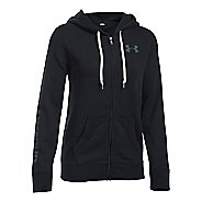 Womens Under Armour Favorite Fleece Full-Zip Hoodie & Sweatshirts Technical Tops
