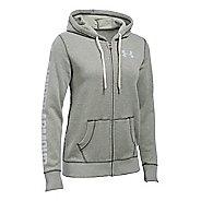 Womens Under Armour Favorite Fleece Full-Zip Hoodie & Sweatshirts Technical Tops