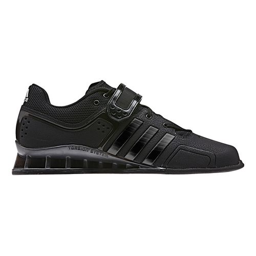 Mens adidas Adi Power 2 Cross Training Shoe - Black/Black 9