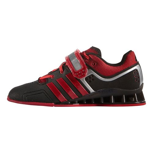 Mens adidas Adi Power 2 Cross Training Shoe - Black/Scarlet/Grey 5