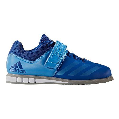 Mens adidas PowerLift 3 Cross Training Shoe - Royal/Blue 7