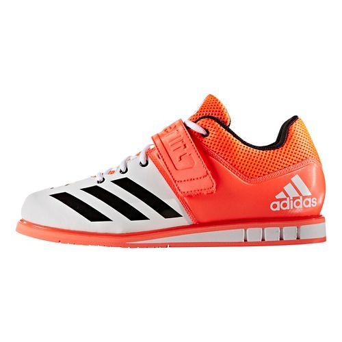Mens adidas PowerLift 3 Cross Training Shoe - Red/Black/White 8.5