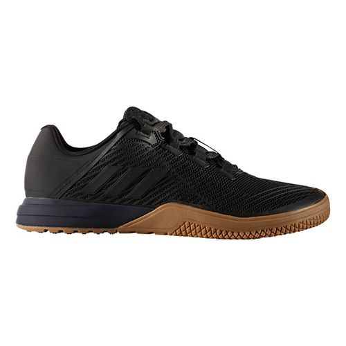 Mens adidas CrazyPower TR Cross Training Shoe - Black/Gum 11.5
