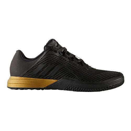 Mens adidas CrazyPower TR Cross Training Shoe - Black/Gold 11.5