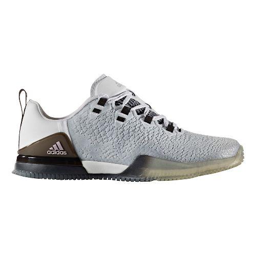 Womens adidas CrazyPower TR Cross Training Shoe - White/Black 7.5