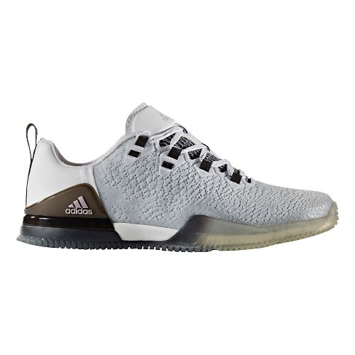 Womens adidas CrazyPower TR Cross Training Shoe - White/Black 8.5