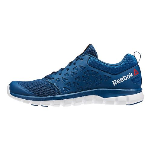 Womens Reebok SubLite XT Cushion 2.0 MT Running Shoe - Blue/White 9