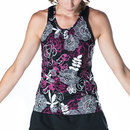 Womens Skirt Sports Free Flow Sleeveless & Tank Tops Technical Tops - Enchanted Print M ...