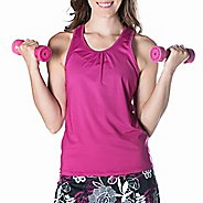 Womens Skirt Sports Free Flow Sleeveless and Tank Technical Tops - Razz L