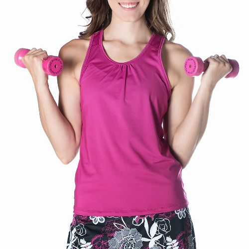 Womens Skirt Sports Free Flow Sleeveless & Tank Tops Technical Tops - Razz L