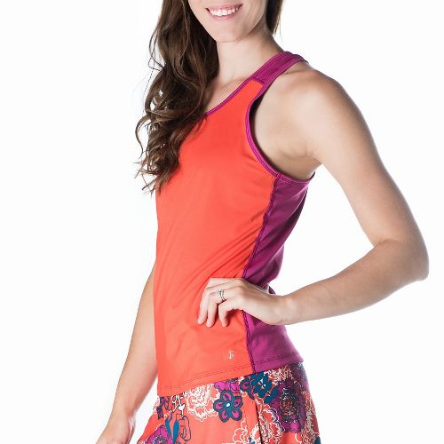 Womens Skirt Sports Free Flow Sleeveless & Tank Tops Technical Tops - Sundance/Razz L