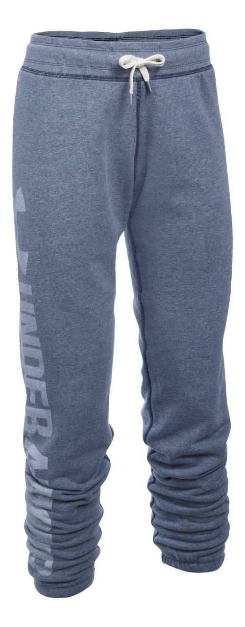 Womens Under Armour Favorite Fleece Pants - Midnight Navy XLR