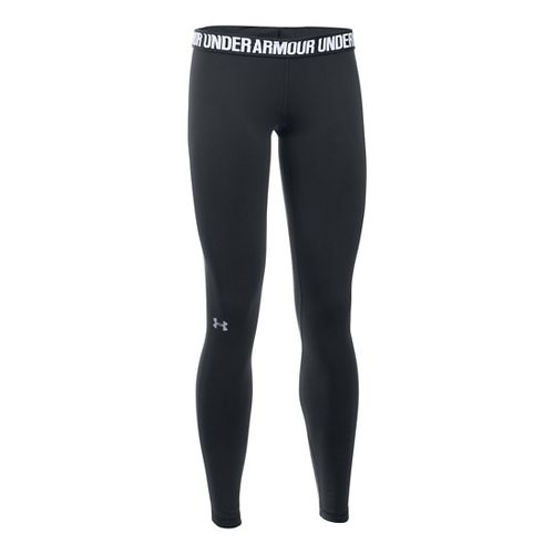 Womens Under Armour Favorite Tights & Leggings Pants - Black XLR