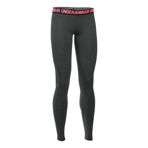 Womens Under Armour Favorite Tights & Leggings Pants - Black S