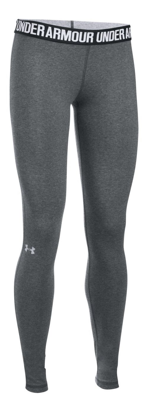 Womens Under Armour Favorite Tights & Leggings Pants - Midnight Navy M