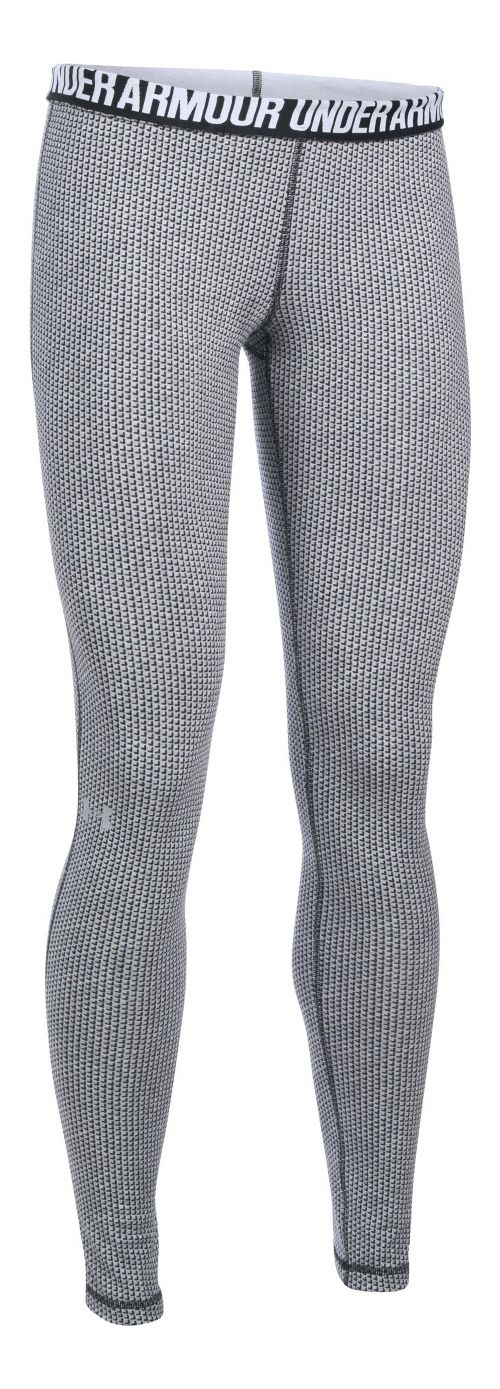Womens Under Armour Favorite - Checkpoint Tights & Leggings Pants - Black LR