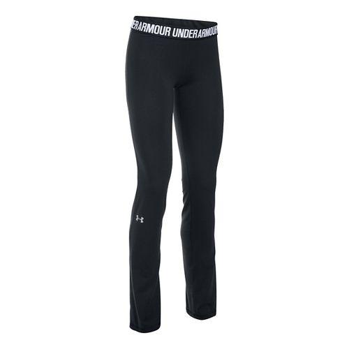 Womens Under Armour Favorite Pants - Carbon/Black XS