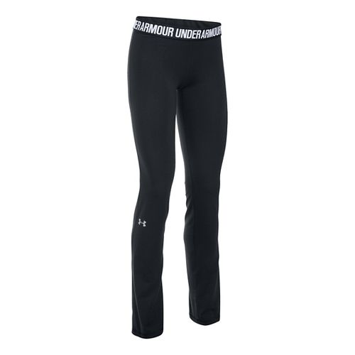 Womens Under Armour Favorite Pants - Black XSR