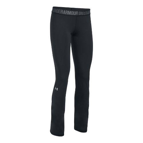 Womens Under Armour Favorite Pants - Black/Black XS