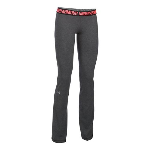 Womens Under Armour Favorite Pants - Carbon Heather XXL