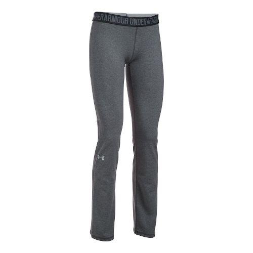 Womens Under Armour Favorite Pants - Carbon/Black S