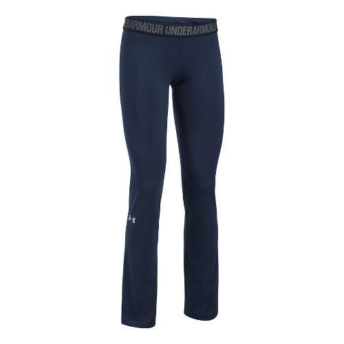 Womens Under Armour Favorite Pants - Navy/Black M-S
