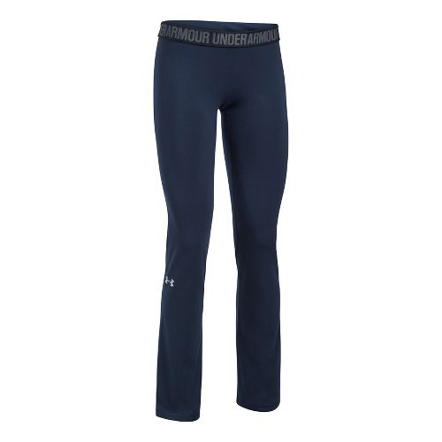 Womens Under Armour Favorite Pants - Navy/Black S