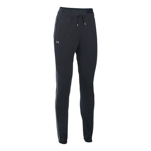 Womens Under Armour Favorite Skinny Jogger Pants - Black LR