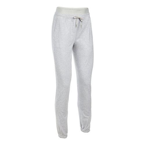 Womens Under Armour Favorite Skinny Jogger Pants - Grey Heather XLR