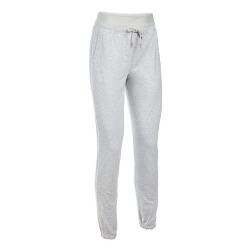 Womens Under Armour Favorite Skinny Jogger Pants - Grey Heather XSR