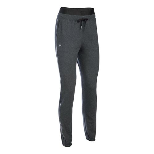 Womens Under Armour Favorite Skinny Jogger Pants - Carbon Heather XLR