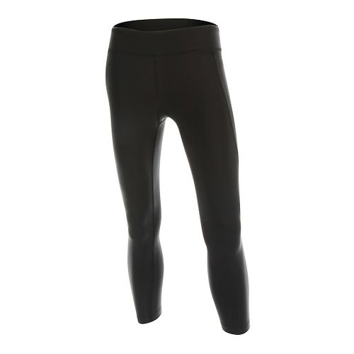Womens 2XU Form 7/8 Tights & Leggings Pants - Black/Black XL