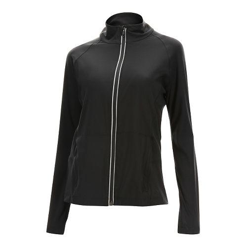 Womens 2XU Form Studio Running Jackets - Black/Black XS