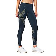 Womens 2XU HYOPTIK Mid-Rise Compression Tights & Leggings Pants