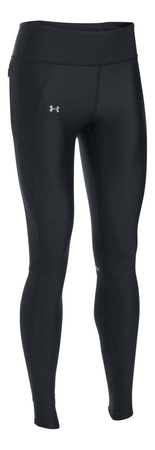 Womens Under Armour Fly By Tights & Leggings Pants - Black L