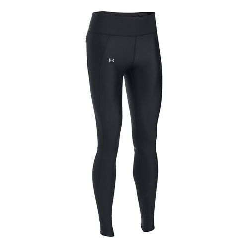 Womens Under Armour Fly By Tights & Leggings Pants - Black XS