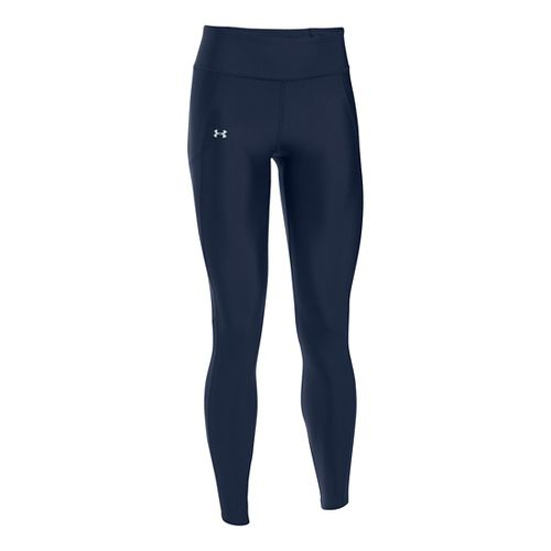 Womens Under Armour Fly By Tights & Leggings Pants - Midnight Navy XS