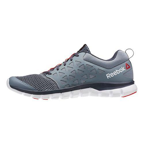 Mens Reebok SubLite XT Cushion 2.0 MT Running Shoe - Black/Red 7.5