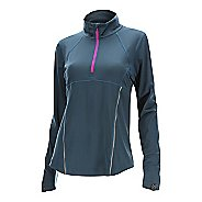 Womens 2XU Thermal Active 1/4 Zip Long Sleeve Technical Tops