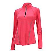 Womens 2XU Thermal Active 1/4 Zip Long Sleeve Technical Tops