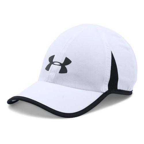 Under Armour Shadow Cap 4.0 Headwear - White/Black
