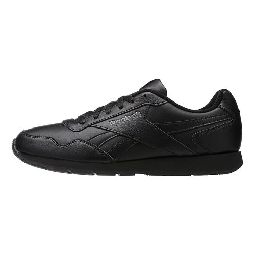 Mens Reebok Royal Glide Casual Shoe - Black/Grey 10.5