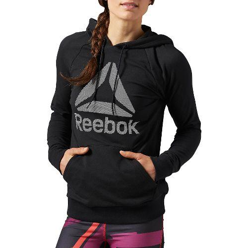 WOR Big Stacked logo over the head Half-Zips & Hoodies Technical Tops - Black XL ...